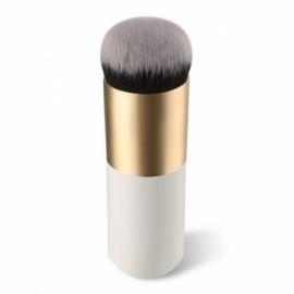 Round Makeup Brush BB Cream Concealer Foundation Powder Brush White & Golden