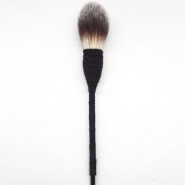 Natural Goat Hair Blush Brush Blusher Handmade Rattan Cosmetic Tool Three Color Nylon Hair
