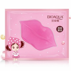 BIOAQUA Collagen Crystal Moisturizing Lip Care Mask Pink