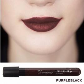 Vampire Style Long Lasting Matte Velvet Lipstick Waterproof Lip Gloss 4# Black Purple