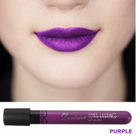 Vampire Style Long Lasting Matte Velvet Lipstick Waterproof Lip Gloss 3# Purple