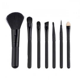 Makeup brush 7 KT suit makeup brush Korean version of hello Kitty makeup brush portable, black