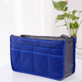 Large Travel Toiletry Organizer Storage Bag Wash Cosmetic Bag Makeup Storage Bag Royalblue