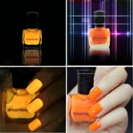 Dream Books Environmental Protection Fluorescent Nail Polish Orange 12ml