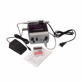 20000RPM Electric Nail Drill Machine Nail Art Manicure Pedicure Black