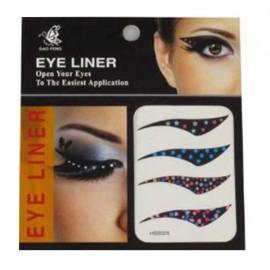 4-in-1 Sexy Fashionable Tattoo Eyelid Transfer Eyeliner Sticker HSB 029