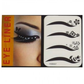 4-in-1 Sexy Fashionable Tattoo Eyelid Transfer Eyeliner Sticker HSB 007