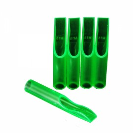 50pcs Box Packaged Disposable Tattoo Tips 15FT Green