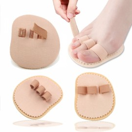 Nail Tools Feet Care Double Hallux Valgus Straightener Crooked Overlapping Hammer Toe Corrector Three Toes Left