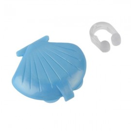 Anti Snore Snoring Stop Stopper Nose Clip Sleep Device Sky Blue