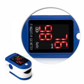 Fingertip Pulse Oximeter Diagnostic-tool Digital SpO2 PR PI Heart Rate Monitor Blue