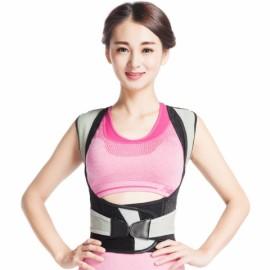 Back Lumbar Support Posture Corrector Shoulder Brace Belt Correction - S
