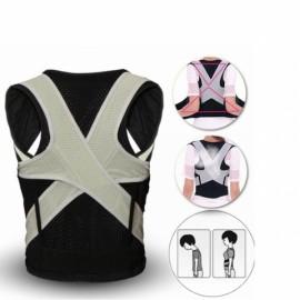 Back Lumbar Support Posture Corrector Shoulder Brace Belt Correction - L
