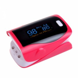 UltraFire OLED SPO2 PR Heart Rate Monitor Screen Fingertip Pulse Oximeter - Red