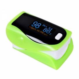 UltraFire OLED SPO2 PR Heart Rate Monitor Screen Fingertip Pulse Oximeter - Green