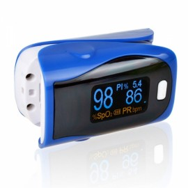 UltraFire OLED SPO2 PR Heart Rate Monitor Screen Fingertip Pulse Oximeter - Blue
