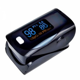 UltraFire OLED SPO2 PR Heart Rate Monitor Screen Fingertip Pulse Oximeter - Black