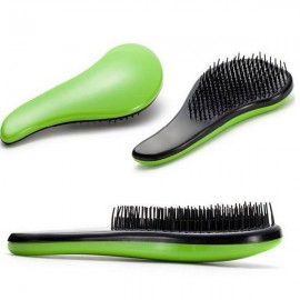 Portable Hair Care Styling Massage Comb Green
