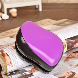 Magic Salon Styling Tamer Tool Professional Hair Care Massage Comb Purple