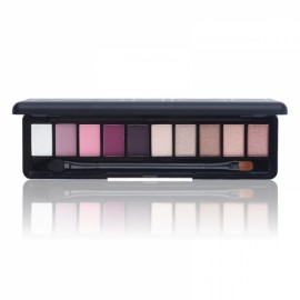 NOVO Fashion 10-Color Shimmer Matte Eye Shadow Makeup Palette Cosmetics Set with Brush 5#