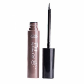Waterproof Semi-permanent Peel-off Eyebrow Dye Cream Tint Enhancer Gel 3# Gray Black