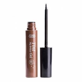 Waterproof Semi-permanent Peel-off Eyebrow Dye Cream Tint Enhancer Gel 1# Dark Brown