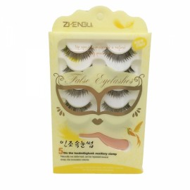 5 Pairs Handmade Long Charming False Eyelashes B7 Black