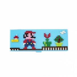 Pencil Case Diamond Building Blocks Box Mini DIY Bricks Gift For Children-Super Mary