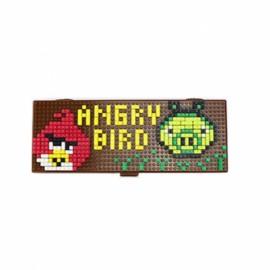 Pencil Case Diamond Building Blocks Box Mini DIY Bricks Gift For Children-Angry Birds
