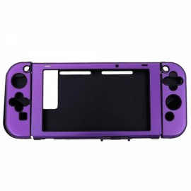 Anti-scratch Dustproof Protective Case for Nintendo Switch Console w/Joy-Con Controller - Purple