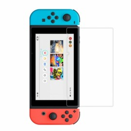 2.5D Tempered Glass Clear Screen Protector Film Guard Shield For Nintendo Switch - 7H