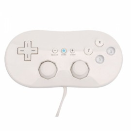 Classic Game Controller for Nintendo Wii / Wii U White