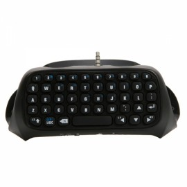 Keyboard with Bluetooth V3.0 (DC 5V) for PS4 Controller Black