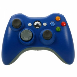 ABS Wireless Game Controller for Xbox 360 / PC Navy Blue