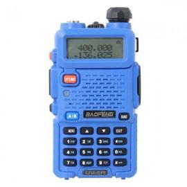 Baofeng BF-UV5R Two-way Radio Handheld Walkie Talkie US Plug Blue