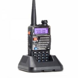 Baofeng UV-5RE Dual Band Two way Handheld Walkie Talkie - US Plug, Black