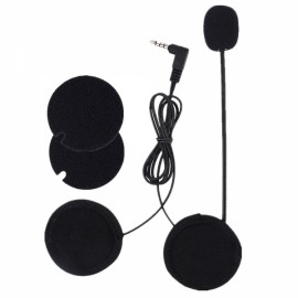 Motorcycle Intercom Accessories 3.5mm Microphone Speaker Earphone Replacement for VNETPHONE V4 V6 EJEAS V6 Pro E6 E6 PLUS