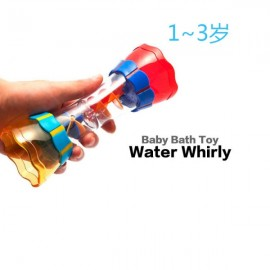 Baby Bathing Cup Rotating Cylinder Shape Fun Water Flow for Kid Swimming Beach Play Multi-color