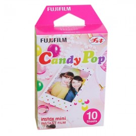 10pcs  Fujifilm Instax Mini 8 Film Candy Dots Photo Papers