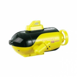 Mini Micro Radio Remote Control RC Sub Boat Racing Submarine Explorer Toys Gift Yellow