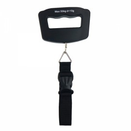 50kg/10g LCD Digital Electronic Luggage Scale Buckled Strap Type