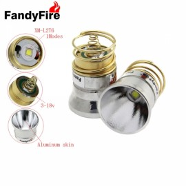 FandyFire 26.5mm Guipi 1 Mode Plug-in Style 501B / 502B C2.504B Module W / OP Reflector for Flashlight