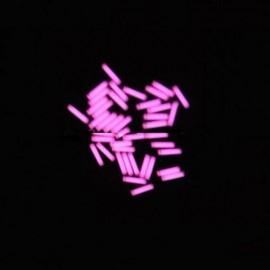 1.5 x 6mm Trit Vials for DQG Fairy LED Flashlight Pink