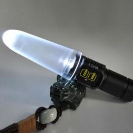 Nitecore NDF25 LED Flashlight Diffuser 25.4mm for EA1/EA2/EC1 White