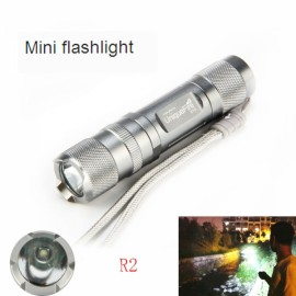 UniqueFire S10 Bright R2 Long-Range LED Flashlight White Light