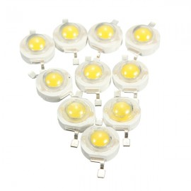 10pcs 3W LED Lamp Bulb Chips 200-230Lm Beads White