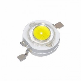10PCS 1W LED Diodes DIY Bulb Chip Bead for Spot Flood Light Warm White