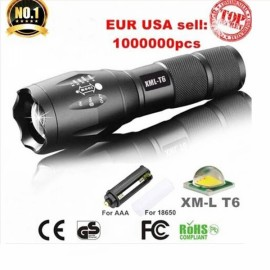 UltraFire S5 LED 10W 1000LM Focus White Strong Light Flashlight - US