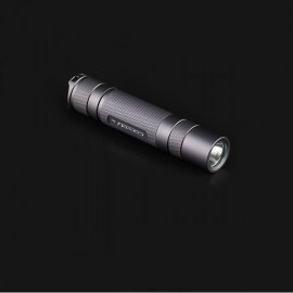 Convoy S2+ 7135*8 T6-4C 5-Mode White Light LED Flashlight Black