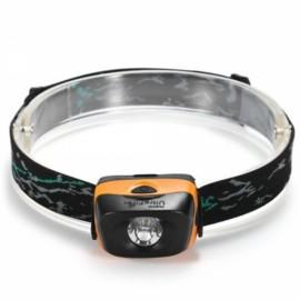 UltraFire W01 120LM 3 Modes LED Headlamp Black & Orange
